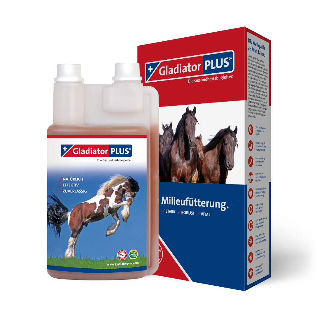 "Product picture ""GladiatorPLUS Horse - The Milieufeeding. 1000ml"""