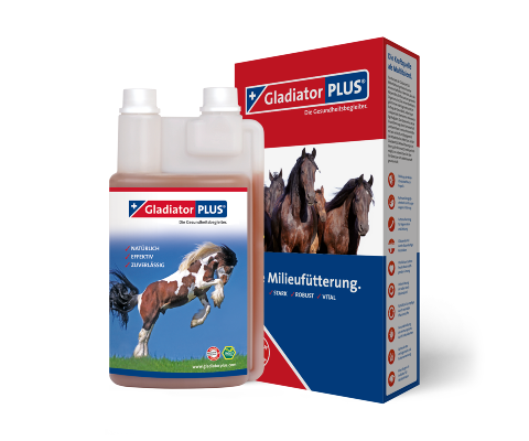 GladiatorPLUS Horse -​ The Milieufeeding. 1000ml