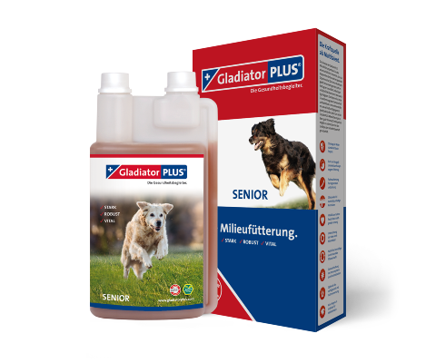GladiatorPLUS Senior Dog -​ The Milieufeeding. 1.000ml