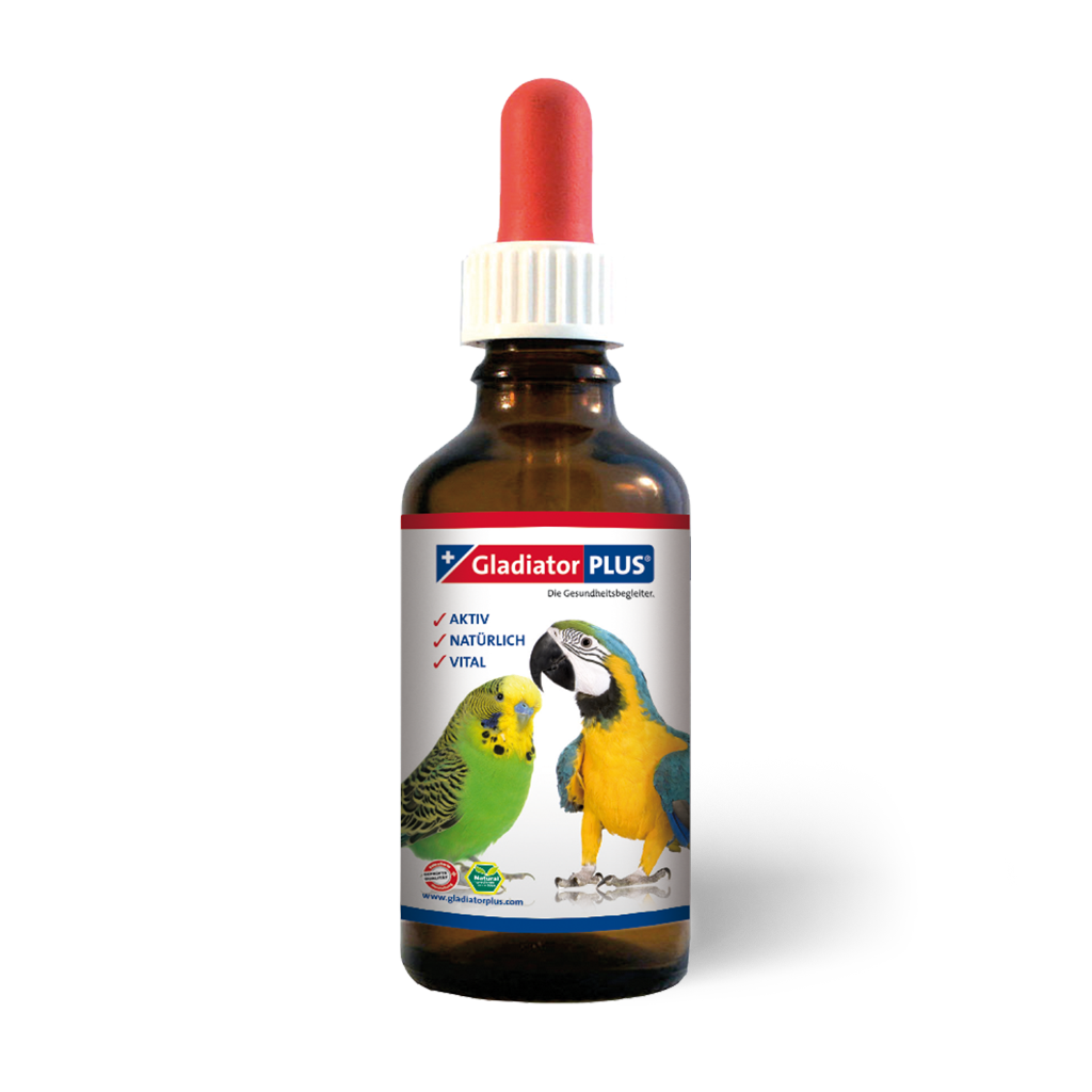"Product picture ""GladiatorPLUS Bird - The Milieufeeding. 100ml"""