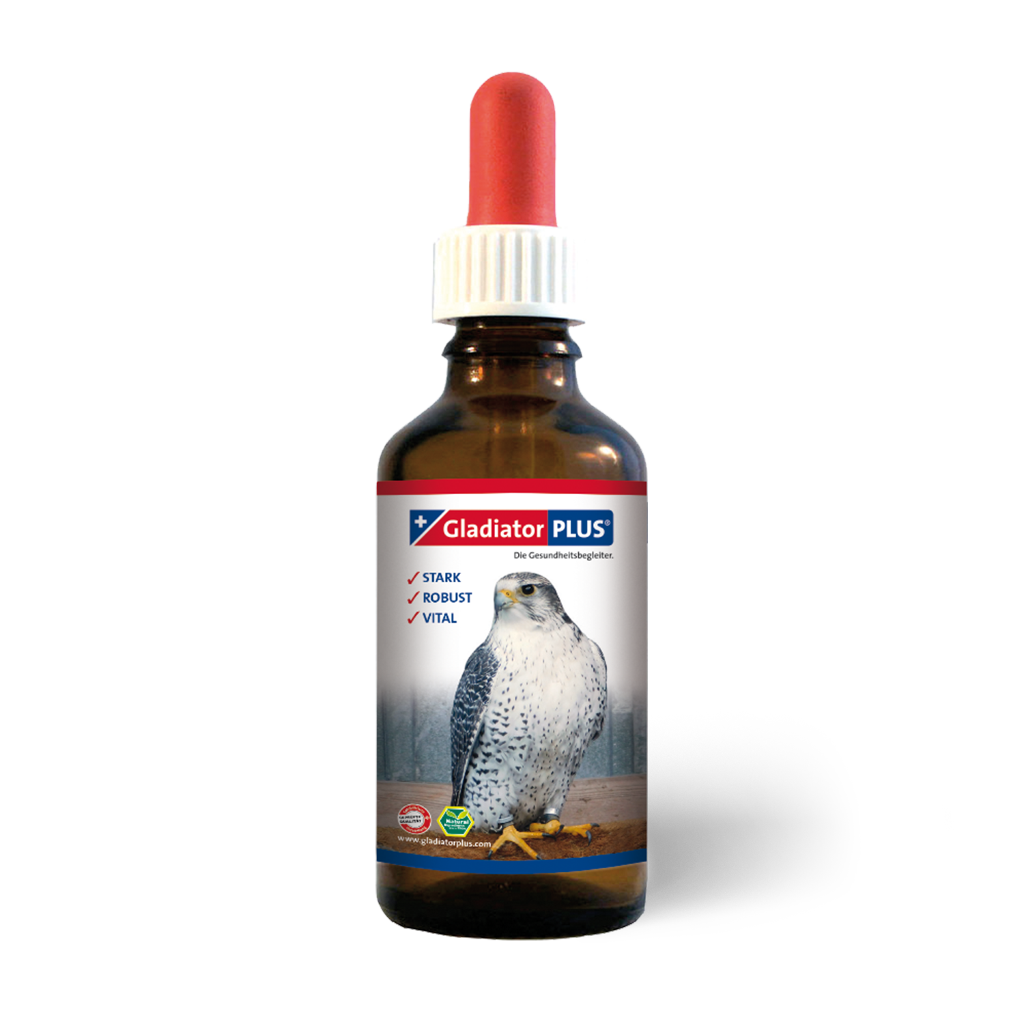 "Product picture ""GladiatorPLUS Birds of prey- The Milieufeeding. 100ml"""