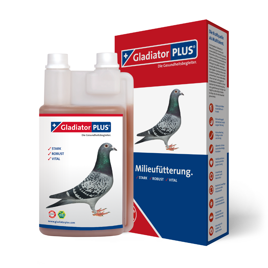 "Product picture ""GladiatorPLUS Pigeon - The Milieufeeding. 500ml"""