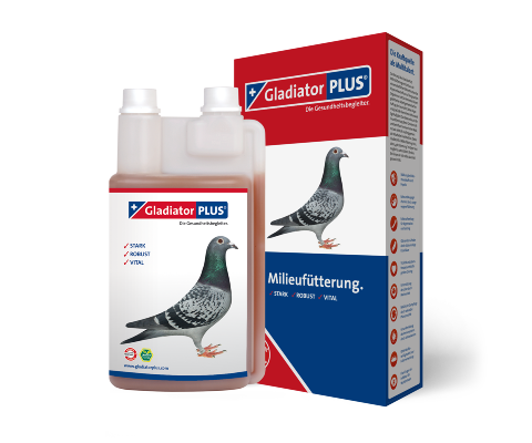 GladiatorPLUS Pigeon -​ The Milieufeeding. 500ml