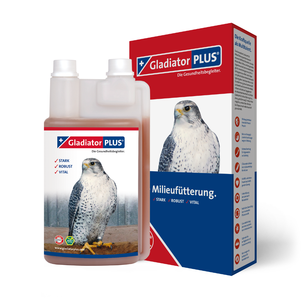 "Product picture ""GladiatorPLUS Birds of prey- The Milieufeeding. 1000ml"""