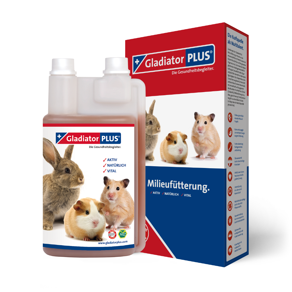 "Product picture ""GladiatorPLUS Pet - The Milieufeeding. 1000ml"""