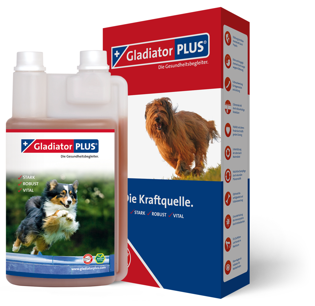 "Product picture ""GladiatorPLUS Dog 500ml"""