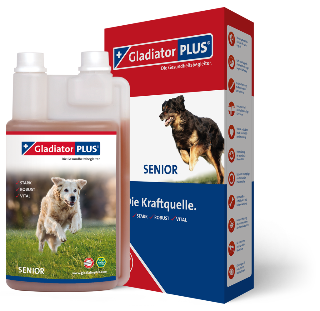 "Product picture ""GladiatorPLUS Senior Dog 1.000ml"""