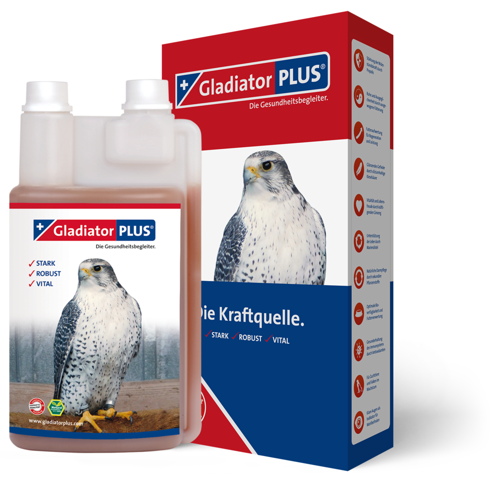 "Product picture ""GladiatorPLUS Birds of prey 500ml"""