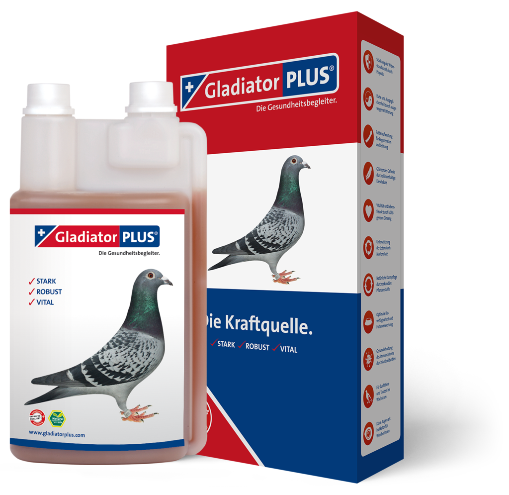 "Produktbild ""GladiatorPLUS Taube 1.000ml"""
