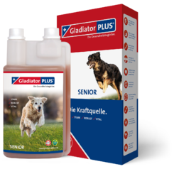 GladiatorPLUS Hund Senior 500ml